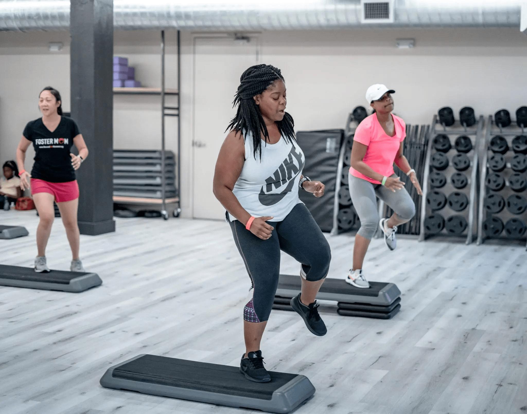 Step Aerobics Classes